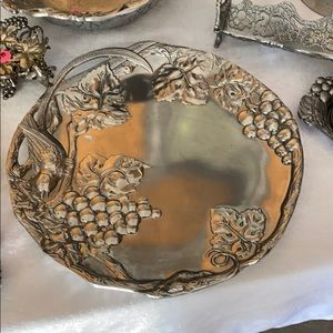 Arthur Court round platter